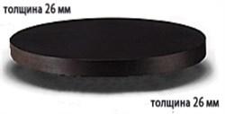 Столешница ДСП+пластик+кромка ПВХ диаметр 900х26 - фото 4252