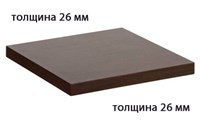 Столешница ДСП+пластик+кромка ПВХ 600х600х26